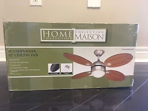 """42"""" Ceiling Fan with Remote Control (Brand New)"""