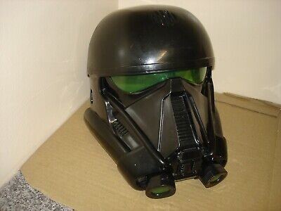 Star Wars Voice Changing Mask Imperial Death Trooper Rogue One Story Helmet