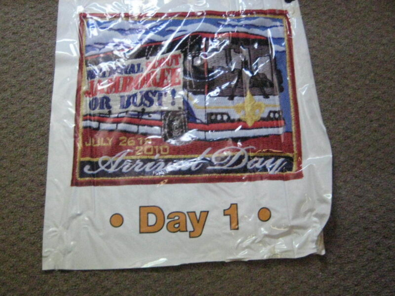2010 National Jamboree Daily Patch Posters, lot of 6