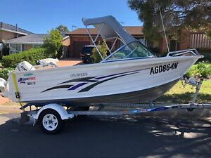 Boat 2011 Quintrex 450 escape with Evinrude 60hp only 155hours