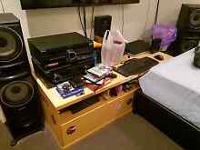 Tv unit with sliding draw Campbelltown Campbelltown Area Preview