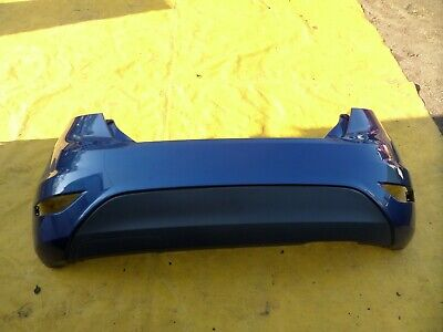 FORD FIESTA MK7 BLUE REAR BUMPER 2008 TO 2012 TITANIUM ZETEC ETC