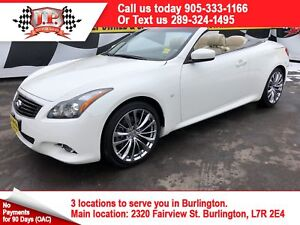 2015 Infiniti Q60 Sport, Auto, Navi, Leather, Convertible, 23, 0
