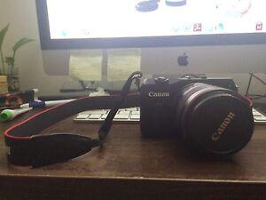 (READ DESCRIPTION) Canon Eos M with Kit Lens (18-55 stm ef-m) East Hills Bankstown Area Preview
