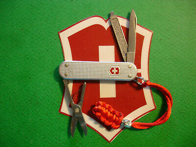 NTSA SWISS ARMY VICTORINOX 58mm SILVER ALOX CLASSIC MULTIFUNCTION POCKET KNIFE