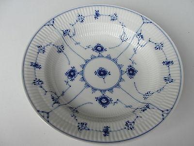 25 cm LARGE SOUP BOWL ROYAL COPENHAGEN BLUE FLUTED 165