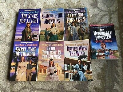 Lynn & Gilbert Morris-Cheney Duvall MD-The House Of Winslow-Lot Of 7