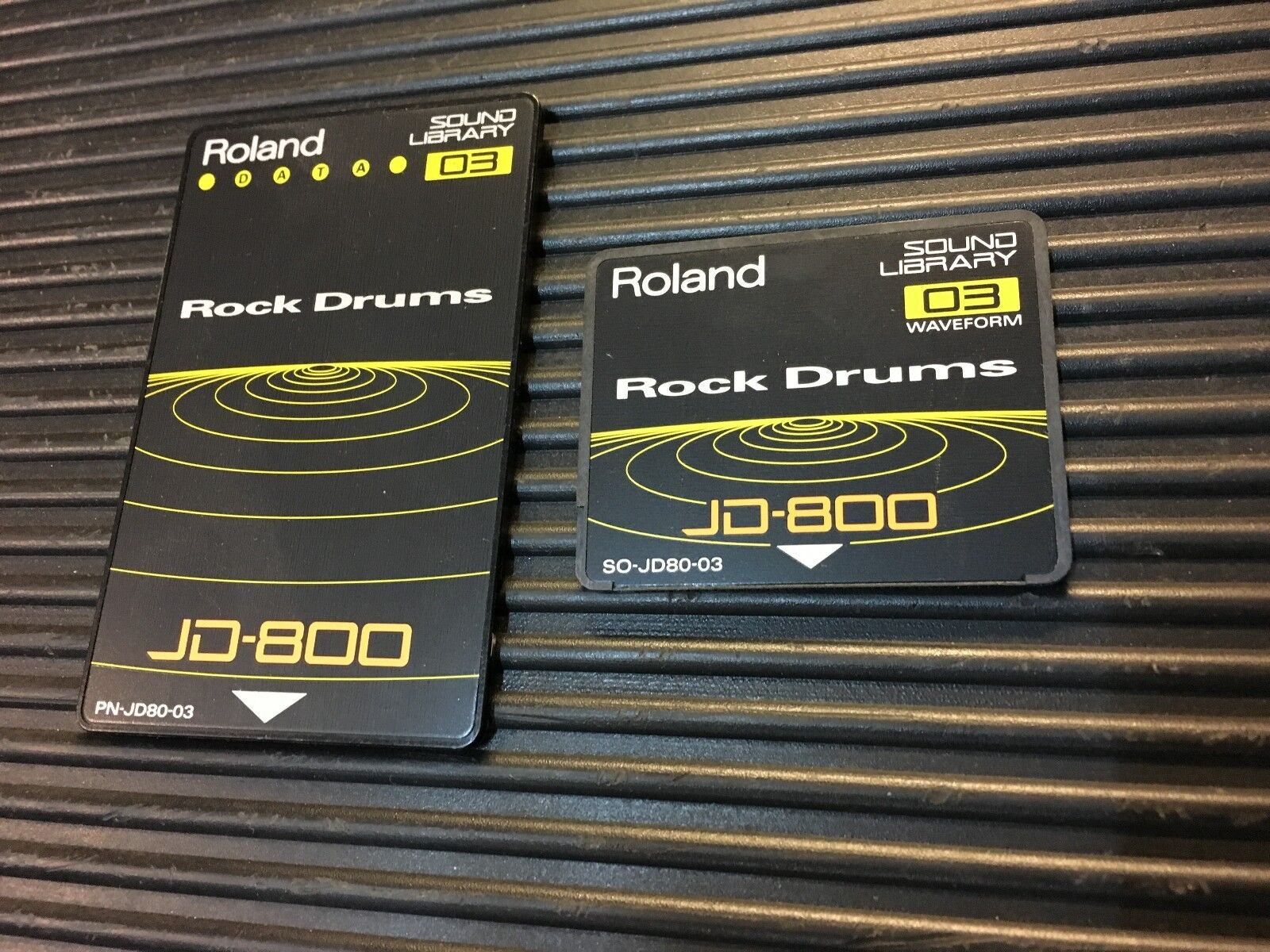 Details about Rock Drums SO-JD80-03 & PN-JD80-03 Cards for Roland JD 800  Synth //ARMENS//