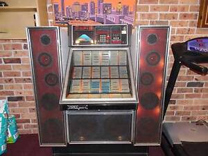 NSM 210 Jukebox. Needs attention. Plays 45's. Kahibah Lake Macquarie Area Preview