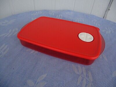 4l Crystal (tupperware crystalwave red 1.4l crystal wave 6 cup rectangle)