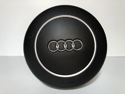 OEM 2003-2006 AUDI A8 4-SPOKE BLACK #4E0880201C 6PS