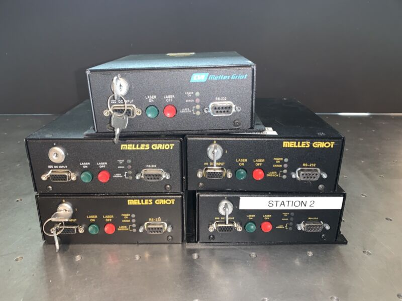Melles Griot DPSS Controllers Lot of 5