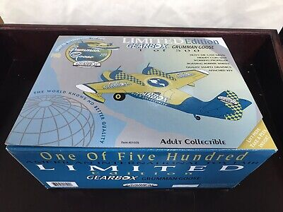 GearBox Grumman Goose The World Knows No Better Quality Airplane Die Cast 01509