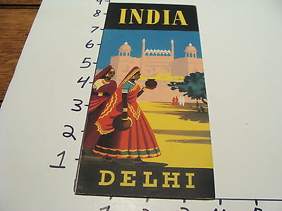 Vintage Tourist paper: INDIA DELHI--early but undated