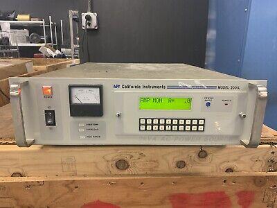California Instruments 2001l 2kva Ac Power Source 2001l-1pt