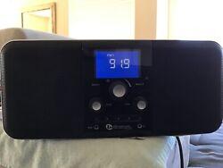 Boston Acoustics duo-i plus ipod iphone dock am fm stereo radio clock