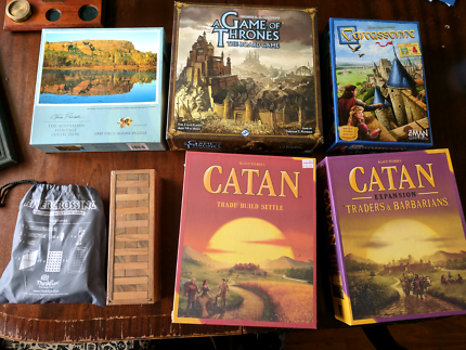 7 assorted board games