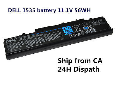 Genuine OEM Laptop Battery for Dell Studio 1535 1536 1555 1557 1558 WU965 WU946 Dell Dell Oem Studio
