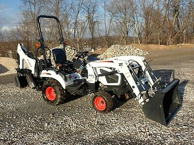 New Bobcat Ct1025 Tractor Loader Backhoe 4x4 Hydro 24.5 Hp Diesel 540 Pto