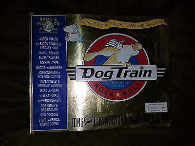 Dog Train Midnight Express Rock & Roll Book & CD Hootie Blowfish Alison Krauss