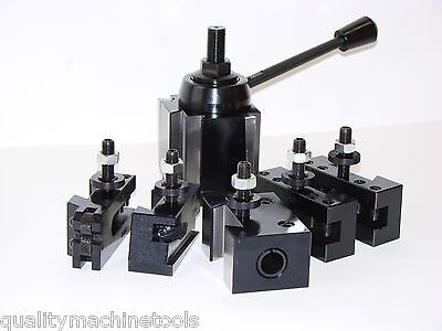 Wedge Type Quick Change Toolpost Set Axa 251-111 Tool Post Free Shipping