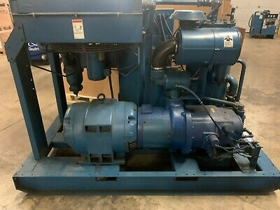 Used Quincy Qsi-370 75 Hp Rotary Screw Air Compressors 460v Great Condition