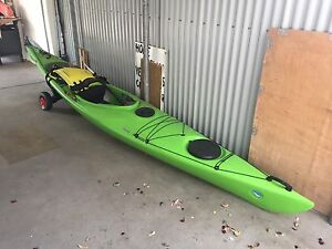 Seabird Discovery 4.3m Kayak and Accessories Sandy Bay Hobart City Preview