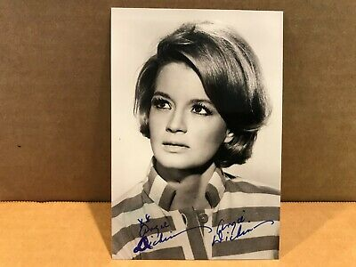 ANGIE DICKINSON Authentic Hand Signed Autograph 4x6 Photo - ACTRESS