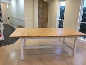 Extendable dining table Vaucluse Eastern Suburbs Preview