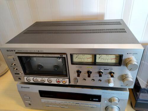 SONY ELCASET DECK EL-5 + 3 elcaset used tapes