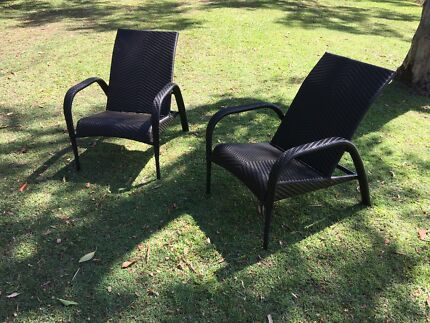 Beautiful Outdoor Wicker Chairs (*8) Part 85