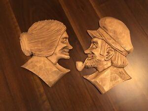 Wood Carvings by Marcel D. Avoine