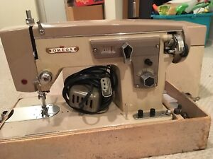 Omega deluxe sewing machine