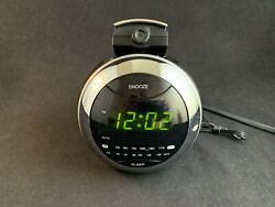 Coby AM/FM Projection Clock Radio - CRA79