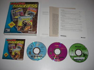 Racing MADNESS Pc 3 games - Midtown, Motocross & Monster Truck Madness 2 BIG - Truck Racing Games