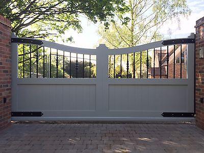 Aluminium Gates, Cantilever design