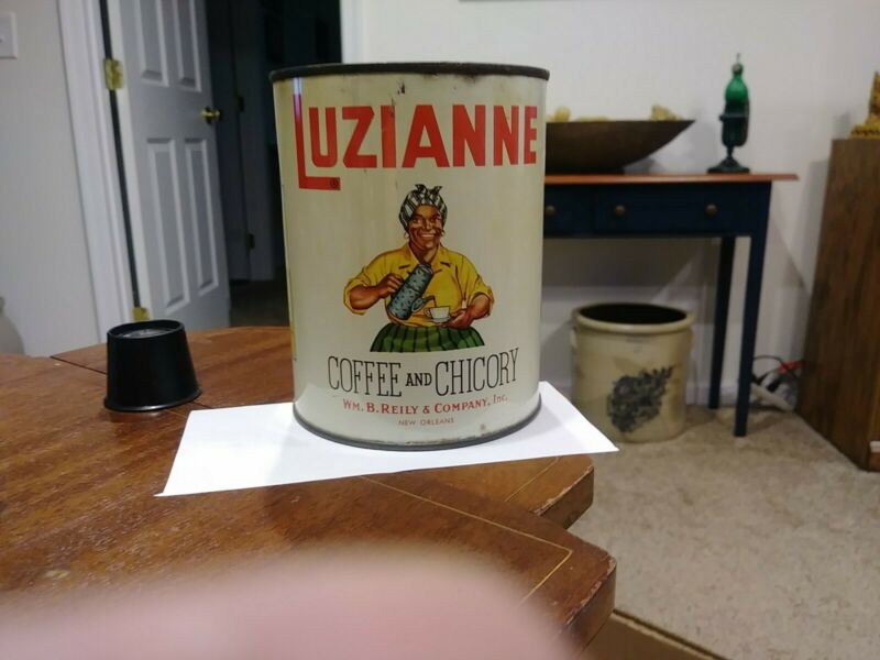 Antique Luzianne 1 Lb Coffee Can