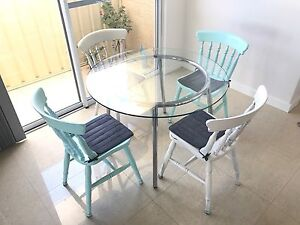 Round Glass Table Top In Perth Region WA Dining Tables Gumtree Australia