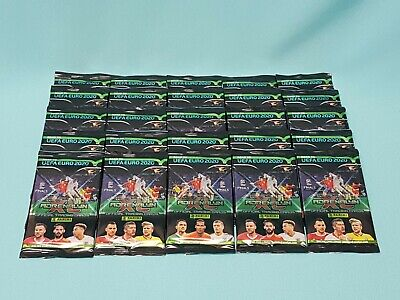 Panini Road to Uefa Euro 2020 Adrenalyn XL 25 Booster / 150 Trading Cards