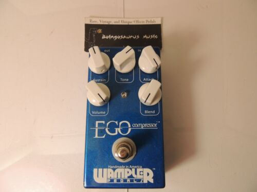 Wampler Ego Compressor Effects Pedal Free USA Shipping