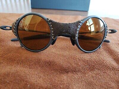 Oakley Mars X Metal Sunglasses Michael Jordan Brown Iridium Lenses. Leather