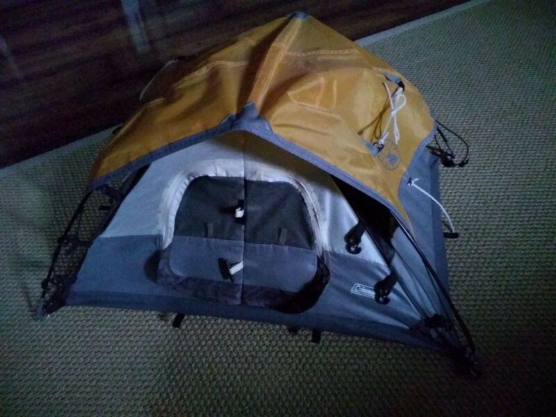"Miniature COLEMAN Tent - Store Shelf Salesman Display BARBIE  - 24"" x 15"" x 11"""