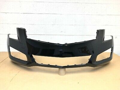 2013-2014 OEM cadillac ats (sedan) front bumper cover 20861604 (black color) #4