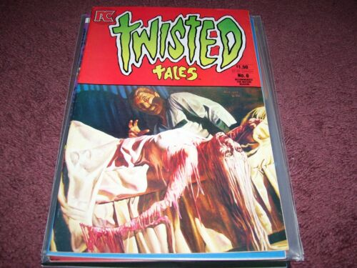Twisted Tales (1982) #6John Bolton Cover