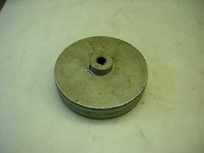 150mm Flat Belt Pulley For A Mikron 79 Gear Hobbing Machine
