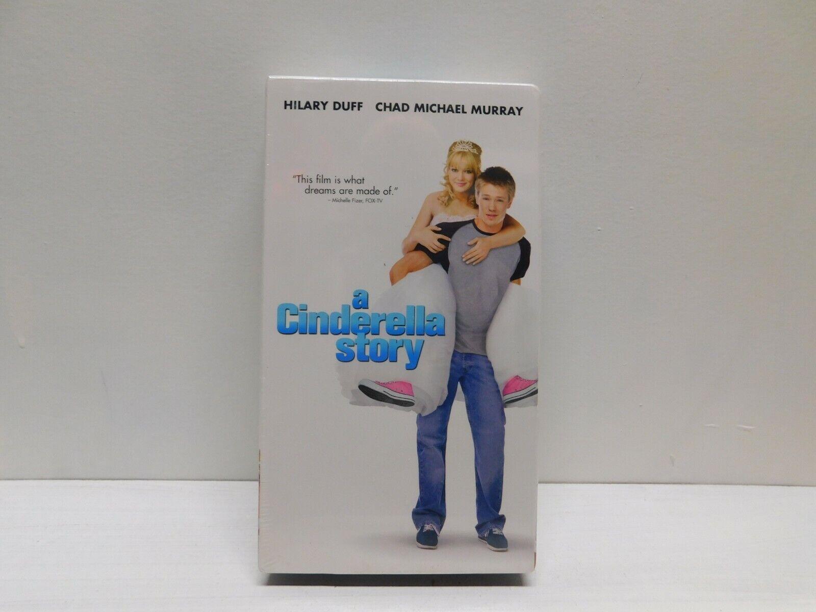 A Cinderella Story 2004 VHS Hilary Duff Chad Michael Murray Romantic Comedy - $9.99