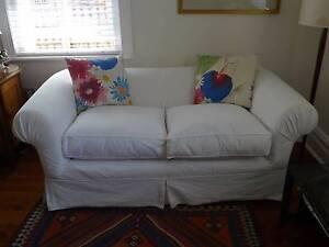 Two White Sofas Mosman Mosman Area Preview