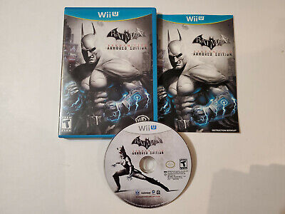 Batman: Arkham City -- Armored Edition (Nintendo Wii U, 2012) complete, tested