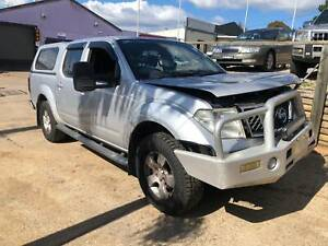 WRECKING 2010 NISSAN NAVARA D40 4X4 DUAL CAB 2.5L DIESEL MANUAL MNT VI North St Marys Penrith Area Preview