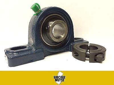 1-14 Pillow Block Bearing Ucp206-20 Solid Base P206 1-14 2pc Split Collar